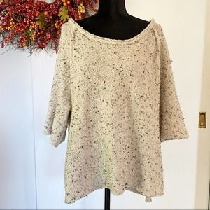Free People Over Sized Wool Sweater Size XS